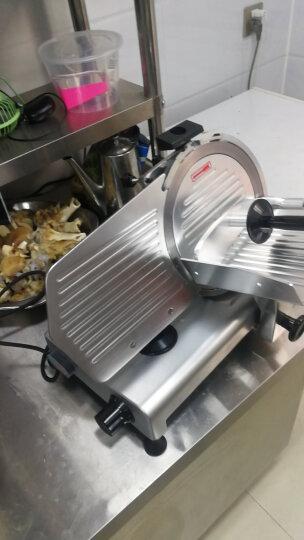 卓良(Zhuoliang) 商用切片机 顺菱半自动切肉机 涮肥牛羊肉卷刨切冻肉片机 ES250(10寸) 晒单图