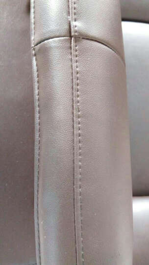 伊甸嘉园 真皮沙发可定制头层黄牛皮大小户型组合皮艺沙发L转角客厅简约后现代组合 1+2+贵妃(头层黄牛) 晒单图