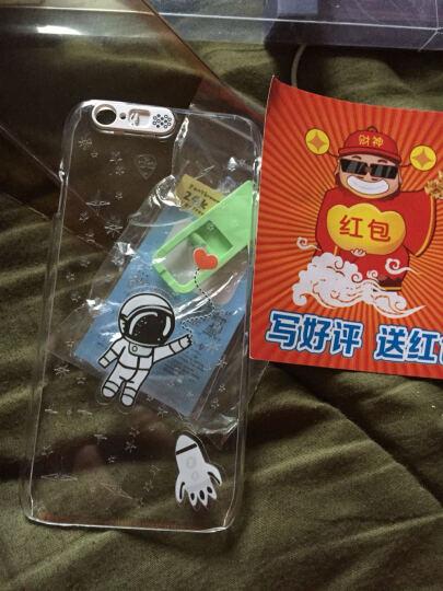 埃菲凡 发光手机保护套来电闪透明手机壳 适用于苹果iPhone6/6S plus 苹果5.5英寸 糖果 晒单图