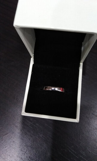 曼蒂娅 925银情侣戒指一对银学生刻字情侣对戒男士女士一对开口光圈戒指送女友礼物 光圈女戒,商家发货! 晒单图
