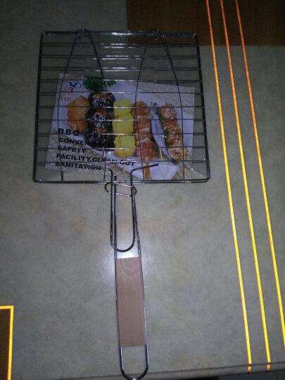 TaTanice电烤盘烧烤配件烧烤炉烧烤架烧烤用品户外烧烤工具竹签烤针食品夹炭夹油刷点火器 烤鱼夹1个 晒单图