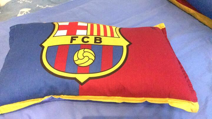 海之洋 欧美足球强队球场床上用品四件套 全棉学生宿舍床单被套三件套 球队-利物浦 2.0米床四件套2.0*2.3米被套 晒单图