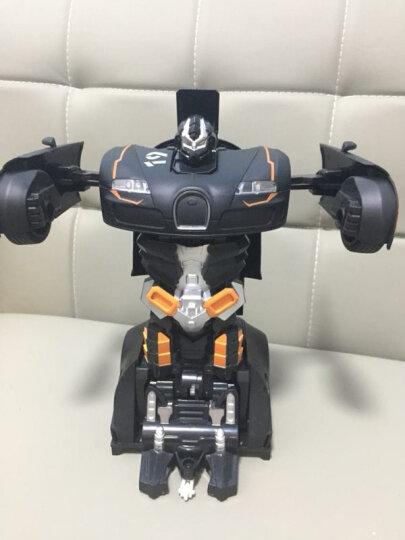 大型32CM智能手感变形车RC遥控车儿童遥控汽车玩具车儿童玩具车遥控赛车玩具 黄色兰博基尼(多送一块电池,可玩40分钟) 晒单图