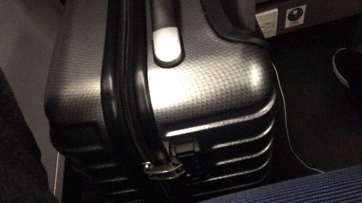 美旅拉杆箱行李箱女学生旅行箱包万向轮密码箱男时尚商务TSA登机箱行旅箱子旅游箱BF9 哑光灰格色 20英寸(TSA锁,无侧把手) 晒单图