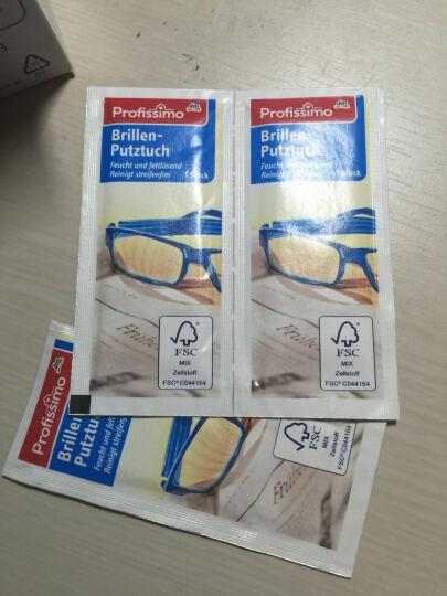 德国进口眼镜布 dm Profissimo便携眼镜布液晶屏单反相机电脑清洁湿巾镜头纸52片 晒单图