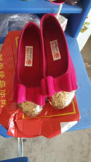 【支持货到付款】新款老北京布鞋韩版时尚平跟女鞋浅口单鞋休闲平底鞋夏季网鞋 G2-4单鞋155黑色 36 晒单图