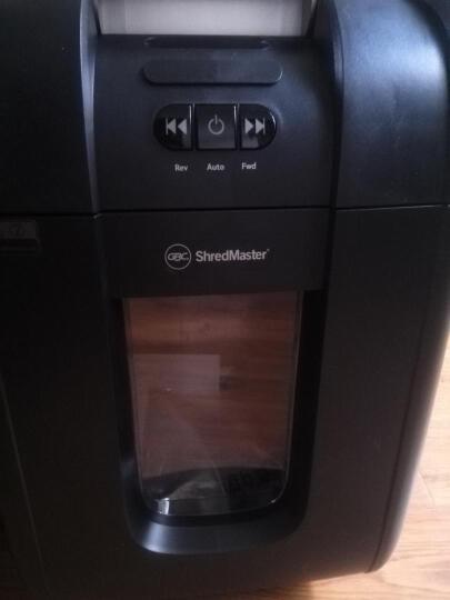 GBC杰必喜 AUTO+200M智能全自动碎纸机一次200张 办公商用静音碎纸机 可碎钉银行卡光盘 晒单图