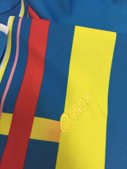 诚品 羽毛球服套装男女款夏装团队乒乓球网球服情侣款运动t恤短袖短裤套装 610天蓝衣+黑裙 女款XXL 170-175 晒单图