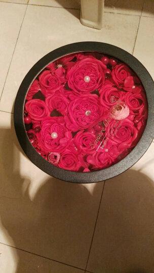爱唯一 红色玫瑰花永生花香皂花礼盒 送爱人生日情人节礼物 晒单图