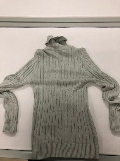 富贵鸟 毛衣男士2018冬季新款韩版修身高领针织衫男装潮 银灰色 M 晒单图