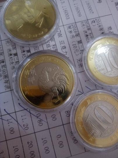 金永恒2017年鸡年纪念币 鸡年生肖流通纪念币原卷拆品相硬币收藏 5枚 带小圆盒 晒单图