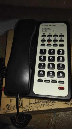 中诺 B009 酒店 宾馆 客房专用电话机 商务座机 壁挂电话机 分机 有绳电话机 黑色 晒单图