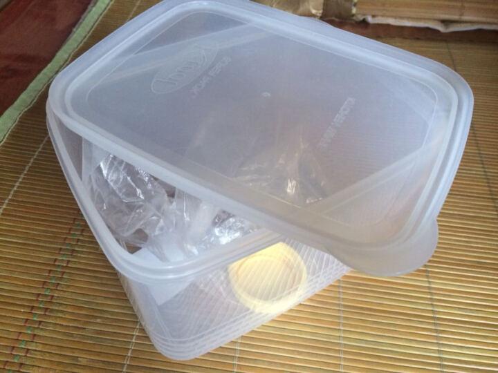 INOMATA 日本进口密封罐 肉类保鲜盒 食品保鲜盒 塑料保鲜盒罐 白糖盒 白糖罐 晒单图