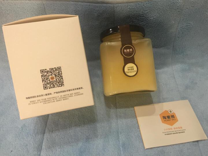 淘蜜郎(HONEY TAO) 淘蜜郎椴树蜂蜜东北黑蜂蜜天然正宗土蜂蜜椴树纯雪蜜400g 晒单图