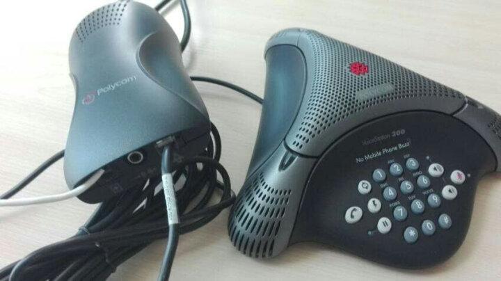 宝利通(POLYCOM) 会议电话机八爪鱼会议电话 音频视频会议全向麦克风 VoiceStation VS300 晒单图