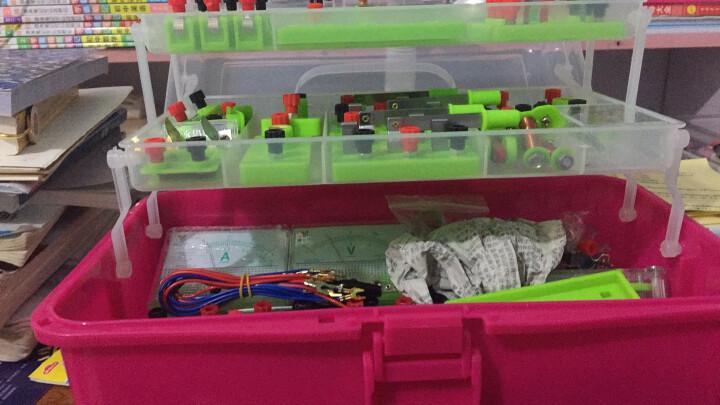 初中物理实验器材箱电学实验盒教学仪器全套中学科学实验箱试验箱初中物理实验器材箱电学实验盒 晒单图