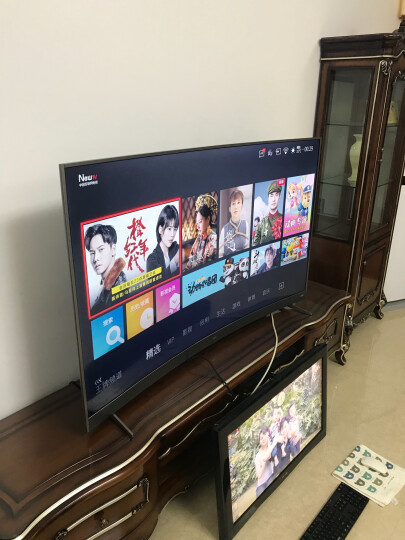 TCL D55A930C 55英寸 HDR超薄4K曲面 64位30核智能液晶电视机(黑色) 晒单图