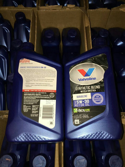 美国进口 胜牌(Valvoline) 半合成机油 星驰 DURABLEND 5W-30 SN 1Qt 946ml/桶 晒单图