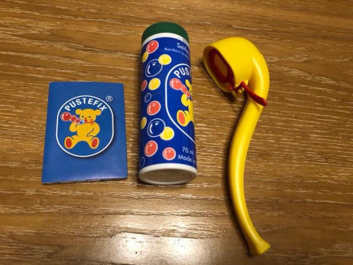 泡特飞(Pustefix)869435 德国进口安全环保无毒泡泡液70ml+烟斗吹泡泡工具 晒单图