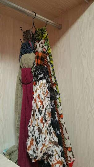 凤全 多功能多层围巾架 领带围巾丝巾架皮带挂架收纳整理架 古铜色 晒单图