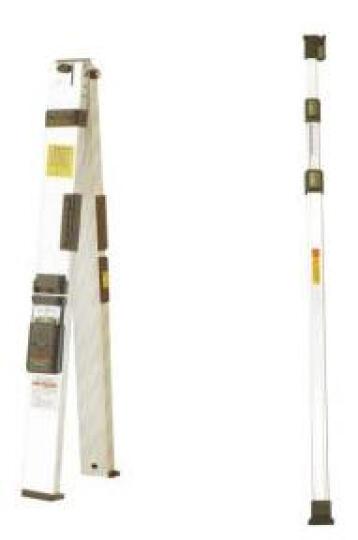NI温州南方检测尺JZC-D(工具箱含塞尺直角尺)墙门窗装饰贴面建筑验房工程垂直平整度检测折叠水平尺 2米靠尺(带检测报告)+对角尺+12件工具箱 晒单图