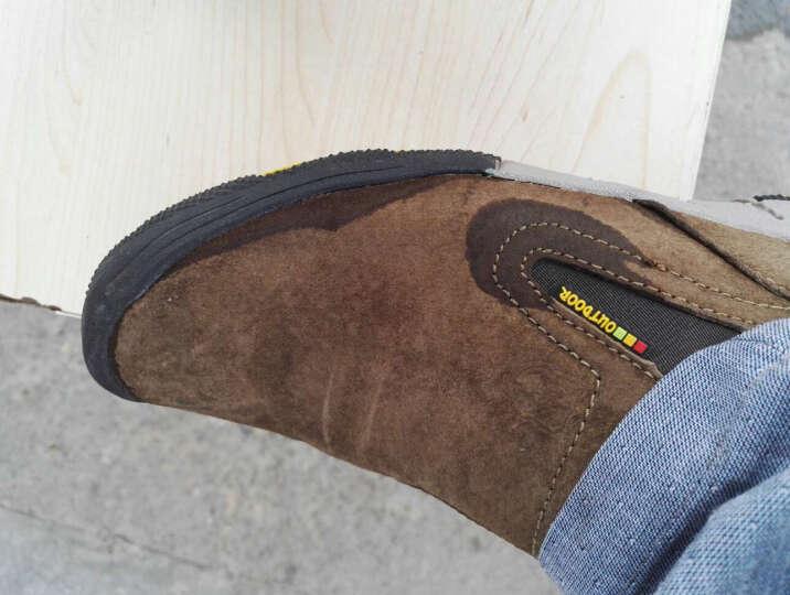 西域骆驼男鞋新款工装鞋透气耐磨运动户外类登山鞋男士休闲鞋 20卡其 41 晒单图