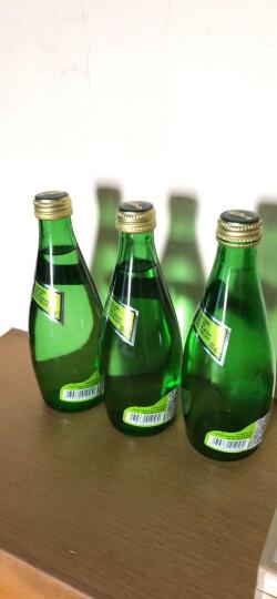 巴黎水 含气天然矿泉水瓶装330mlx12瓶 法国进口 晒单图