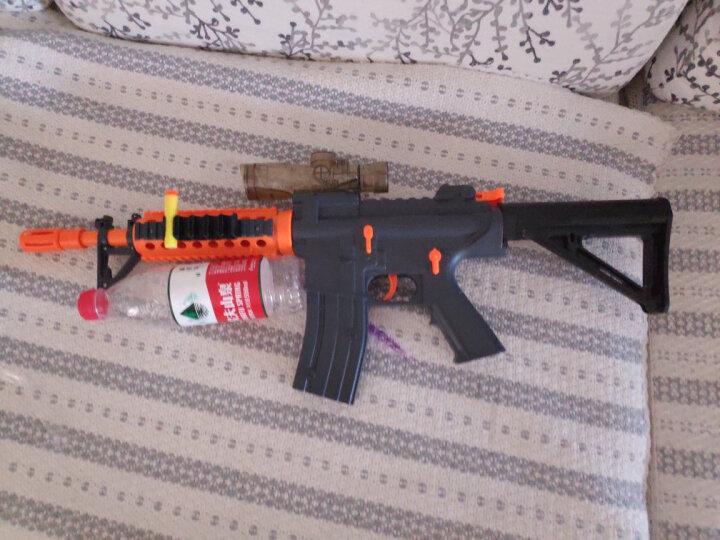 豆豆象大型仿真玩具枪软弹枪模型狙击枪手动上膛水晶弹男孩玩具DX9012橙色 晒单图