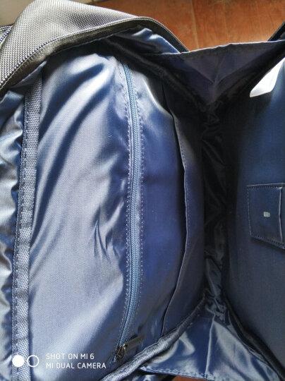 小米(MI)经典商务双肩包 笔记本电脑包15.6英寸 时尚双肩背包 黑色 晒单图