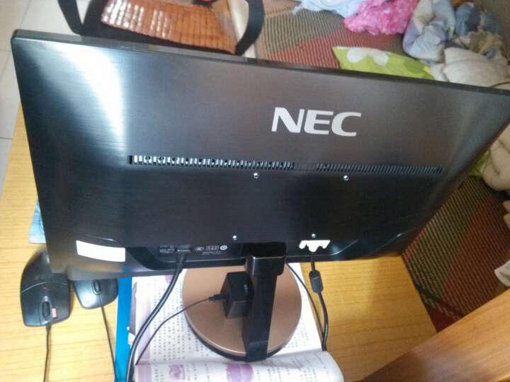 NEC VE2208XI 21.5英寸宽屏液晶显示器 IPS广视角 纤薄机身 金色 晒单图