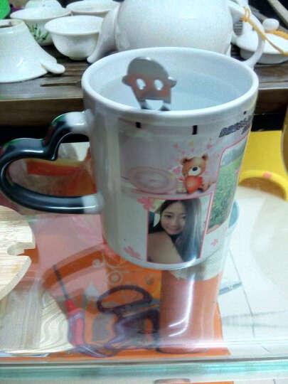 diy礼物马克杯生日变色杯子印照片定制相片创意魔术杯带盖杯子 玲珑骨瓷变色杯 普通包装 晒单图