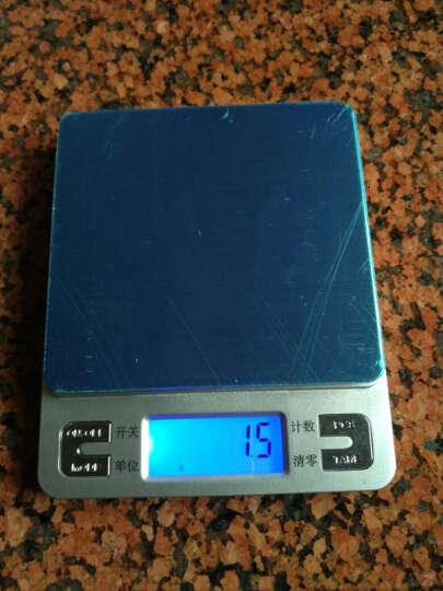 骏缘电子称 厨房秤 精准0.01g珠宝秤烘焙电子秤称重电子称0.1g克重克数秤克度秤天平秤 中文500克/0.01克/双托盘 晒单图