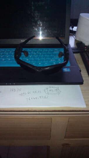 芭卡玛卡BAKMK 户外立体偏光太阳镜  音乐翻盖太阳镜 MP3蓝牙耳机 BS01 黑色 晒单图