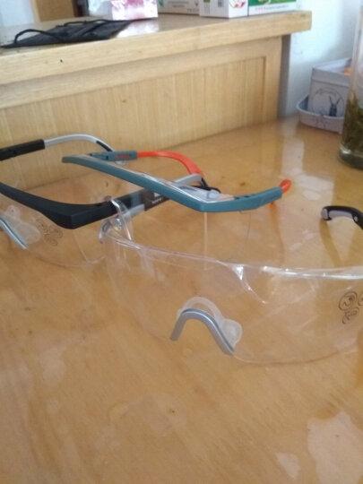 代尔塔 101117 护目镜 防冲击 防刮擦 防雾 防护眼镜 白色 晒单图