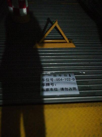 西力特车位锁地锁汽车手动停车占位锁加厚防撞防压挡车器 8吨抗压加长单锁+防水挂锁+螺栓 晒单图