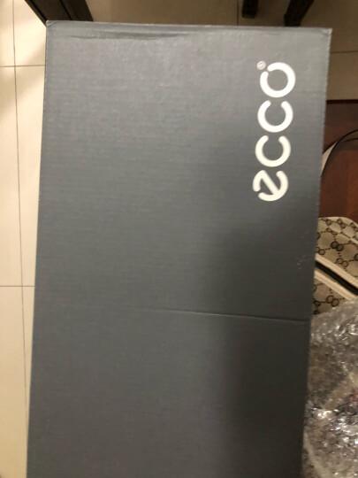 【预售】ECCO爱步男鞋轻便舒适豆豆鞋男套脚乐福鞋 莫克570904 黑色57090401001 43 晒单图
