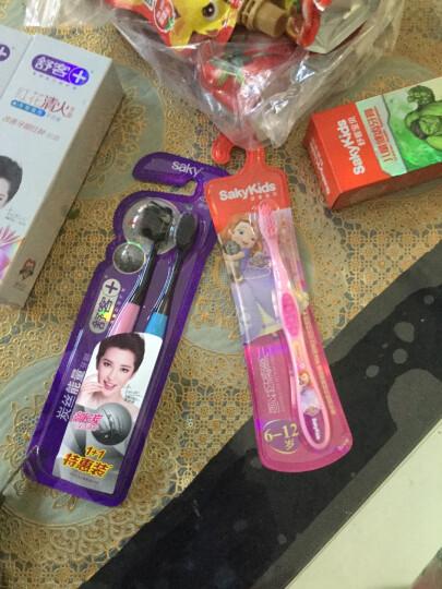 舒客宝贝儿童保健牙刷(又名儿童健齿牙刷)6-12岁防滑手柄 安全卫士 晒单图