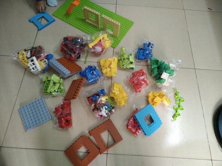 大颗粒积木儿童玩具 宝宝拼装建筑立体拼插塑料我的世界兼容乐高底板桌 男孩女孩3-6岁生日礼物节日礼物 一块大底板 晒单图