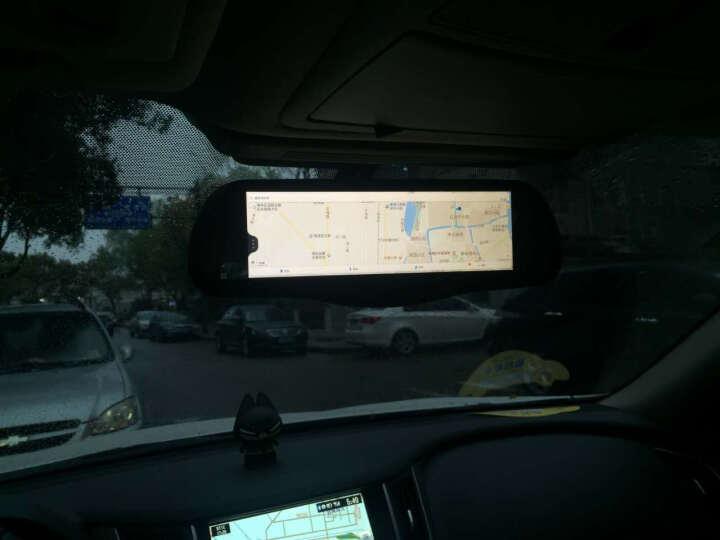 丁威特新款8英寸可折叠式中控台行车记录仪高清双镜头带测速云电子狗 4g无光夜视智能后视镜导航一体机 8G卡+智能云电子狗+隐藏式行车记录仪 晒单图