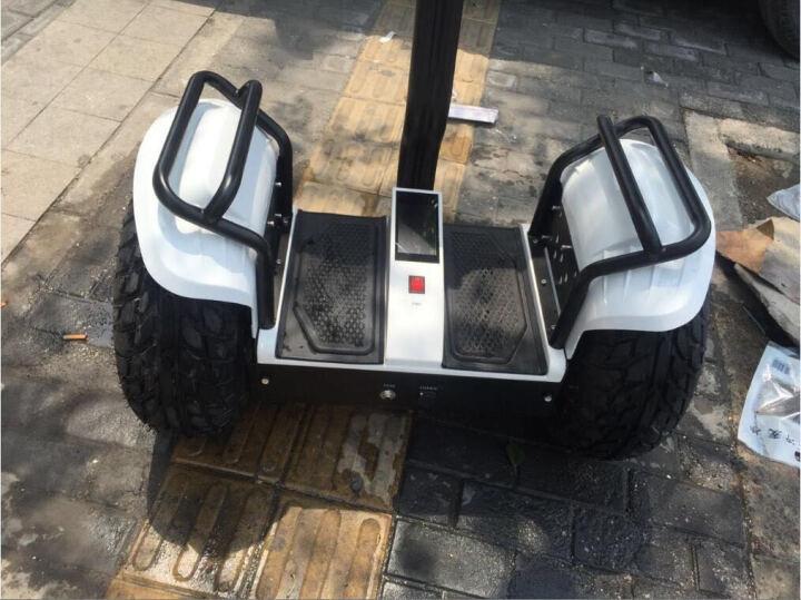 恒立通(HLT) 恒立通两轮电动平衡车越野平行车思维车智能体感代步车双轮车大轮子代步神器 红色锂电48v 晒单图