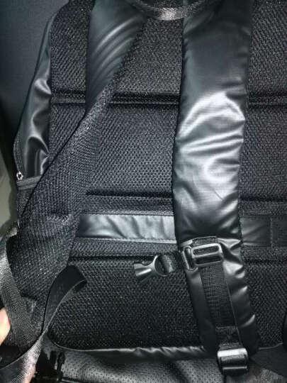 高尔夫GOLF双肩包男女士防水电脑包潮男双肩背包大容量14英寸笔记本包学生书包 款式1荧光绿 晒单图