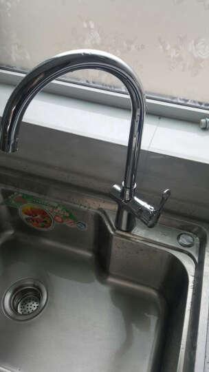航标(Bolina) 3401-02 单把单孔厨房龙头 水槽龙头 全铜冷热水可旋转 晒单图