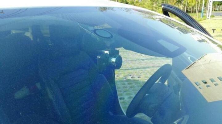 凌度 行车记录仪高清广角夜视178度汽车车载24小时停车监控 灰色 晒单图