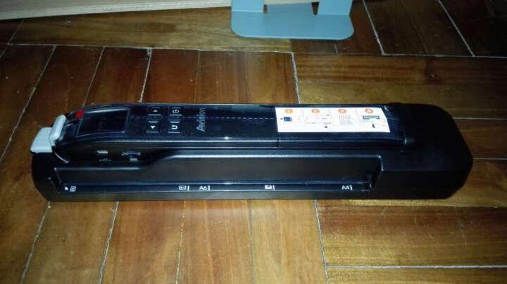 虹光(Avision) 手持式扫描仪 便携式A4扫描仪 a4 彩色扫描笔 高速扫描仪 黑色 晒单图