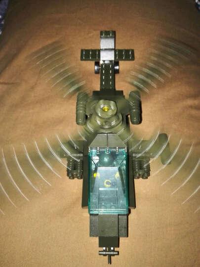 小鲁班 城市警察局兼容乐高直升机特警拼装积木卡车男孩军事益智玩具6-10岁 大逃亡 晒单图