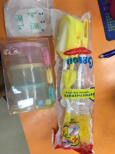 日康(rikang)奶粉盒分装盒三层大容量便携彩色抽屉式奶粉格零食盒 日康三层奶粉盒 晒单图