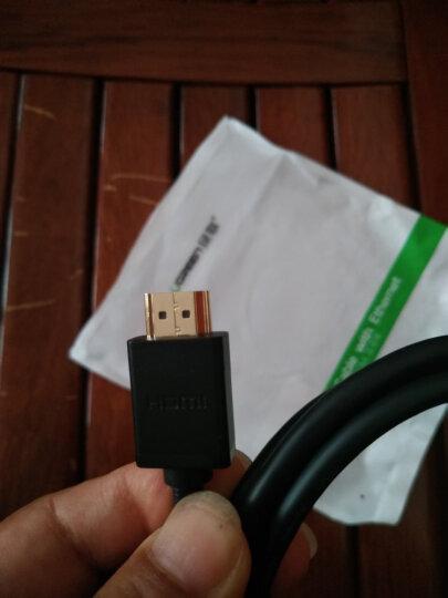 绿联(UGREEN)Micro HDMI转HDMI线 微型HDMI高清数据转接线 平板电脑相机连接电视投影转换线 1米 30148 晒单图