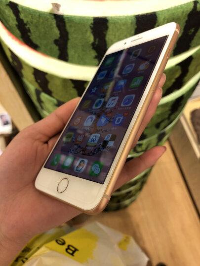 闪魔iPhone7Plus/8 Plus/6Plus钢化膜全屏全覆盖 苹果真9D抗蓝光高清手机贴膜 8P/7P【真曲面^9D黑色全屏】送神器 晒单图