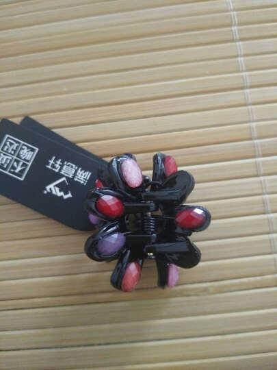 满意轩 时尚彩色树脂塑料小发抓刘海抓夹小发卡头饰 女发饰发夹 5#太阳花(热荐色) 晒单图
