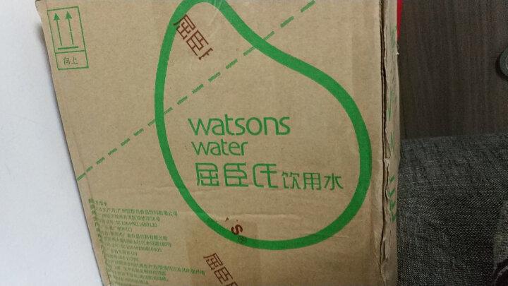 屈臣氏(Watsons)饮用水(蒸馏制法)400ml*15瓶 整箱装 京东限量文字瓶 晒单图